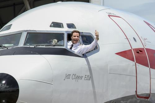 Marcus Reubenstein Image John Travolta Qantas 707i