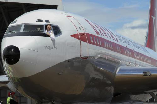 Marcus Reubenstein Image John Travolta Qantas 707ii