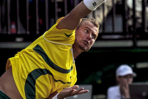 Marcus Reubenstein Lleyton Hewitt Davis Cup 2010 a