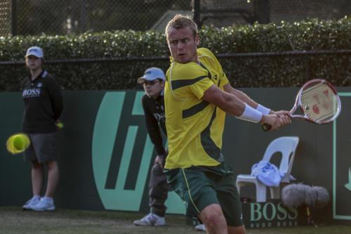 Marcus Reubenstein Lleyton Hewitt Davis Cup 2010