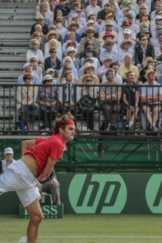 Marcus Reubenstein Roger Federer Davis Cup 2010